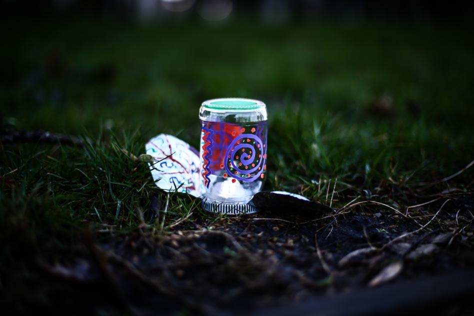 tin forest lantern