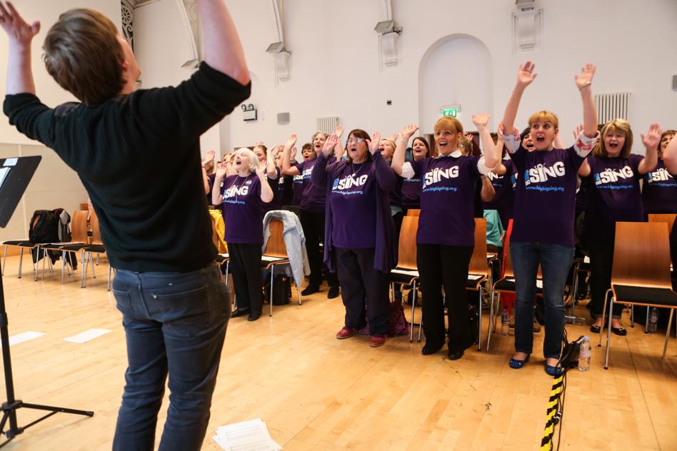 Community Choir Singing