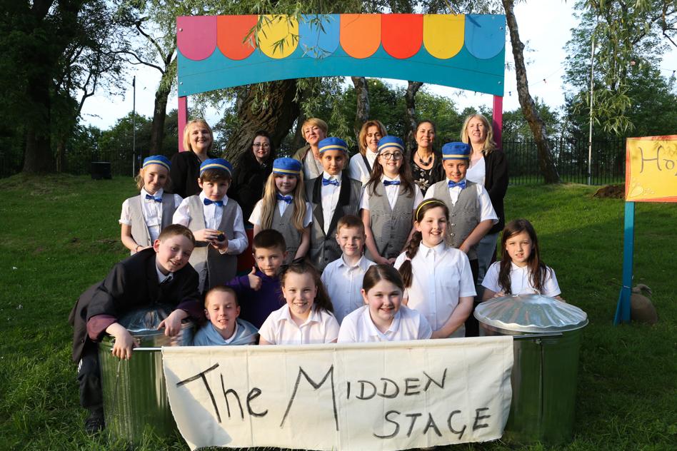 The Midden Stage at Sprinburn